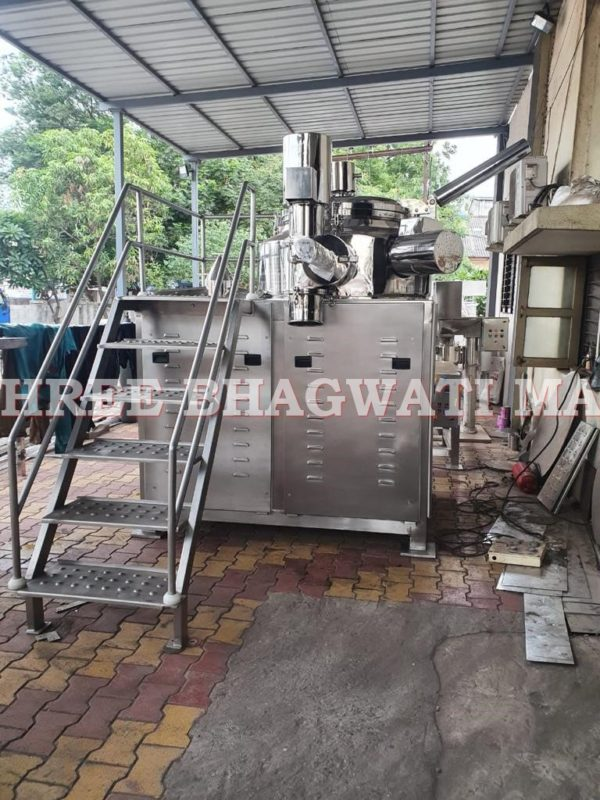 Rapid Mixer Granulator (RMG) with Vacuum Conveying with Cone Mill