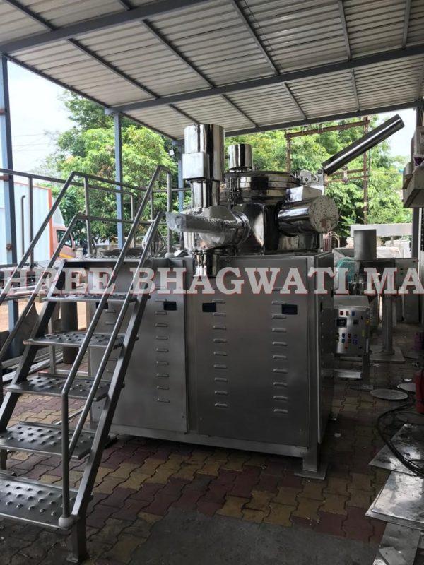 Conical Mill + High Shear Mixer Granulator , Co Mill with Rapid Mixer Granulator