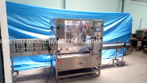 15kg oil tin filling machine, Jerry Can Oil Filling Machine