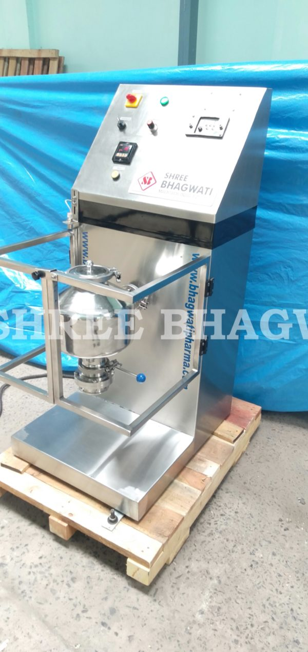 octagonal blender, octagonal blender machine, pharmaceutical octagonal blender, pharmaceutical octagonal blender machine